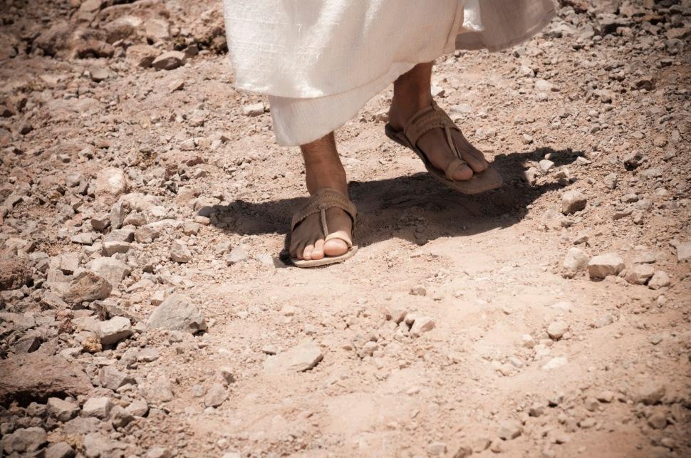 jesuswalking