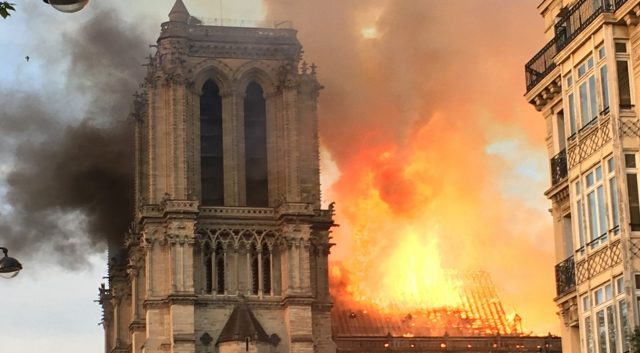 The Burning Question of NotreDame